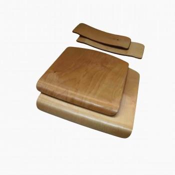 Спинка сиденье группа 3-4 (отделка глянцевым лаком)